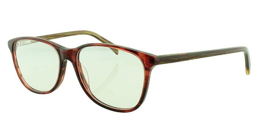 Armação para Óculos de Grau Feminino 8086 Vinho Mesclada