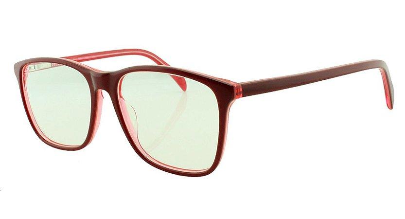 Armação para Óculos de Grau Feminino 8084 Vermelha