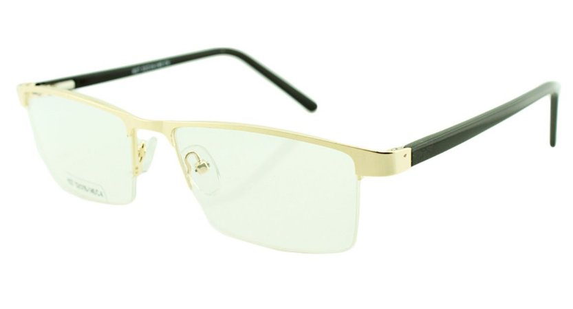 Armação para Óculos de Grau Masculino H27 Dourada