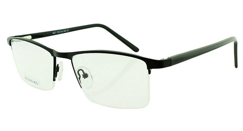 Armação para Óculos de Grau Masculino H27 Preta