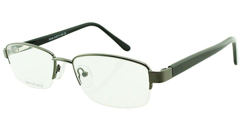Armação para Óculos de Grau Masculino M44 Grafite