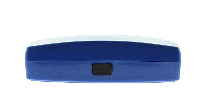 Estojo para Óculos Receituário com Forro L30S Azul Escuro
