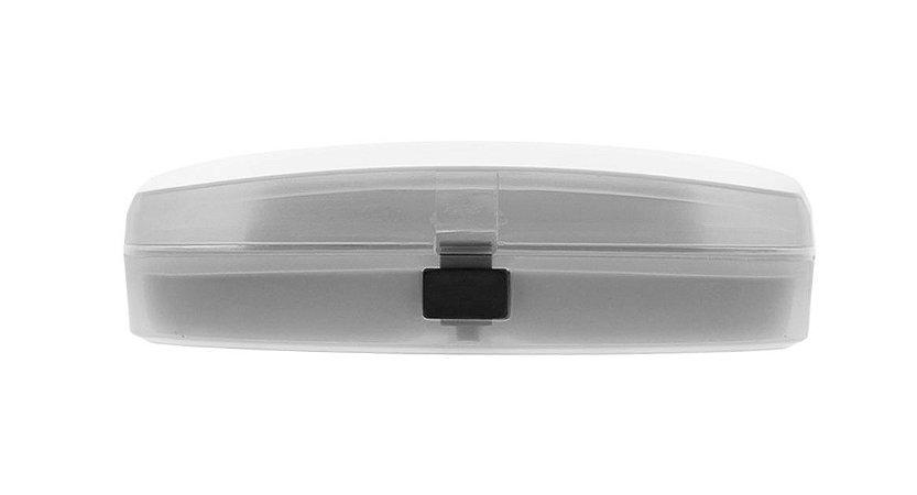 Estojo para Óculos Receituário com Forro L30S Transparente