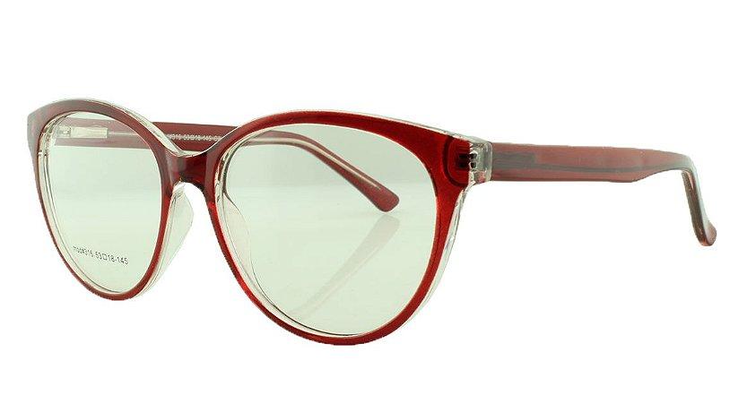Armação para Óculos de Grau Feminino 316 Vermelha