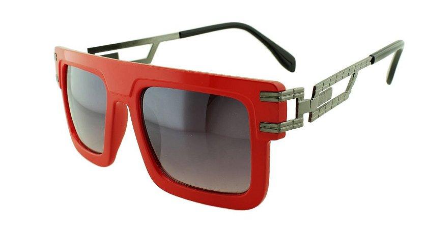 Óculos Solar Unissex Sortido D9089 Vermelho