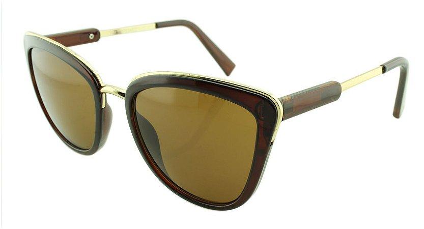 Óculos Solar Feminino SRP034EC Marrom