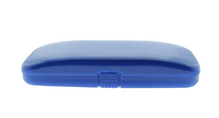 Estojo para Óculos Receituário com Forro Flocado L20 Azul
