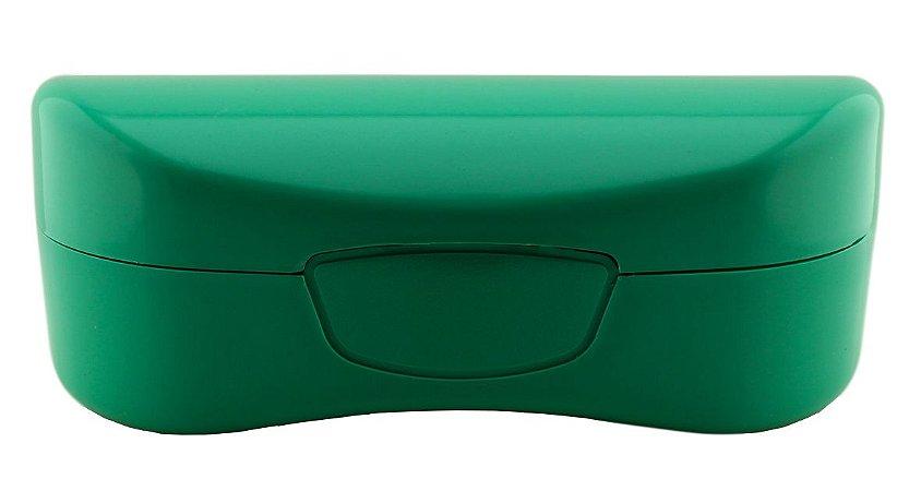 Estojo para Óculos Solar com Forro Flocado ECL02 Verde