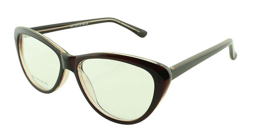 Armação para Óculos de Grau Feminino 04A Marrom
