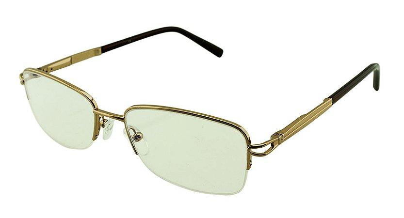 Armação para Óculos de Grau Feminino H03 Dourada
