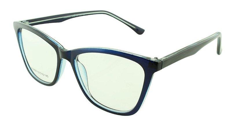 Armação para Óculos de Grau Feminino 28 Azul