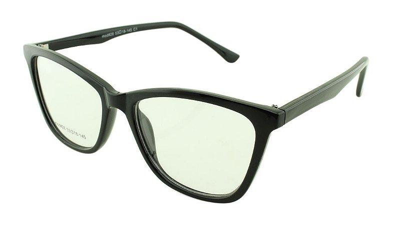 Armação para Óculos de Grau Feminino 28 Preta