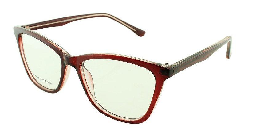 Armação para Óculos de Grau Feminino 28 Vinho