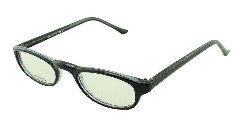 Armação para Óculos de Leitura 03A Preta