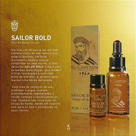 Óleo Sailor Bold 30ml El Capitán