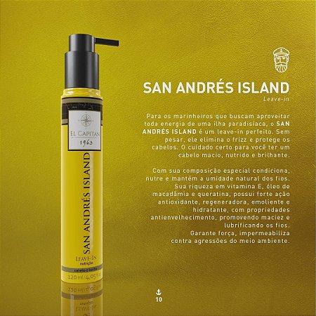 Leave In San Andrés Island 120ml El Capitán