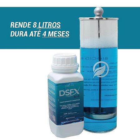 KIT 4 MESES | JARRO  1,2 LITRO + 3 DSFX BLUE CONCENTRADO LIMPADOR DESINFETANTE 480ML