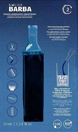 Biocide Barba Líquido Higienizante Concentrado 30ml 1 unidade