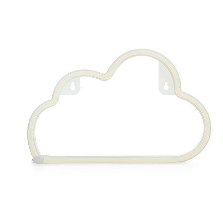 Luminária Silhueta Led Nuvem Branca c/ 1 unidade