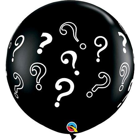 Balão Bexiga Gigante Chá Revelação 90cm c/1 unidade