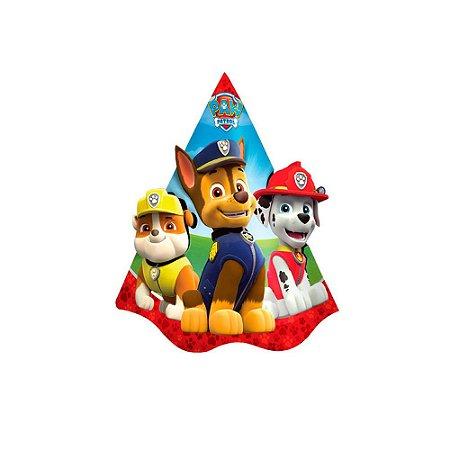 Chapéu Festa Aniversário Decoração Tema Patrulha Canina c/8