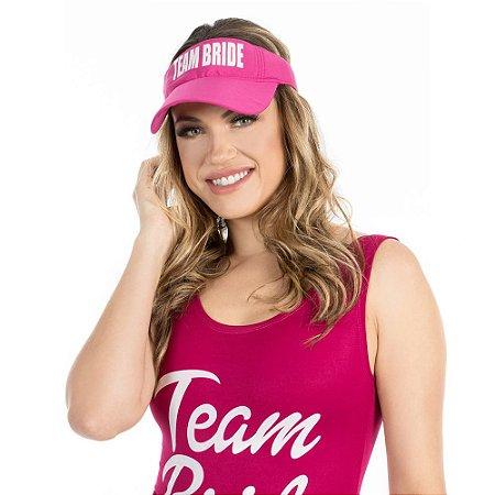 Viseira Pink Team Bride Despedida de Solteira c  1 unidade - Loja da ... 4c7eda8e1b0