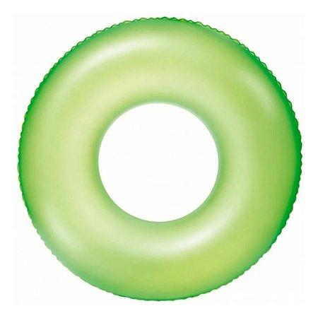 Bóia Circular Redonda Verde Neon 76 cm