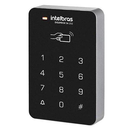Controle De Acesso E Leitor De Cartão Intelbras Teclado Stand-alone Sa 202 125khz