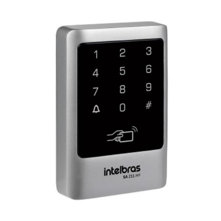 CONTROLE DE ACESSO INTELBRAS TECLADO STAND-ALONE SA 211 MF 13,56 MHz