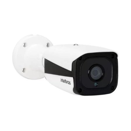 Câmera Bullet Ip Vip 7208 Lpr 2.7 A 12mm Zoom Motorizado Com Leitura De Placa Intelbras