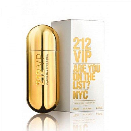 89aaa1124ba35 212 Vip Carolina Herrera Feminino Eau de Parfum 80ml - Luxúria ...