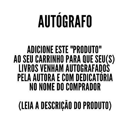 Autógrafo e dedicatória no livro (leia a descrição do produto, por favor)