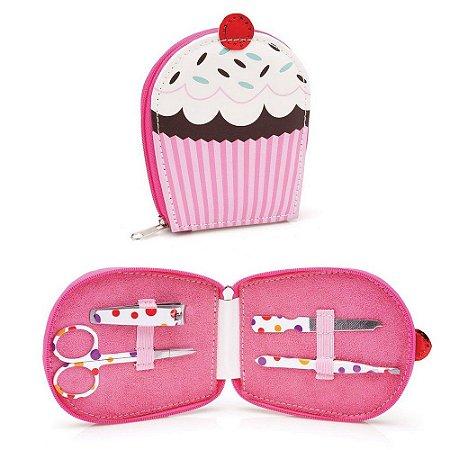 Kit Manicure Cupcake