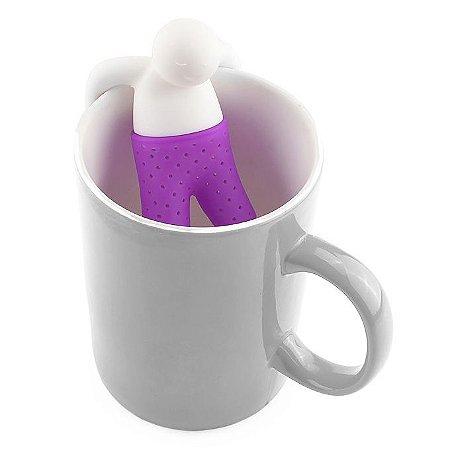 Infusor de Chá - Mr. Tea - Roxo