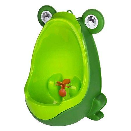 Mictório Infantil Penico de Parede Sapo Verde