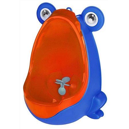 Mictório Infantil Penico de Parede Sapo Azul
