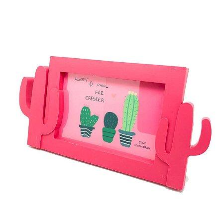 Porta-Retrato Cactus - Pink
