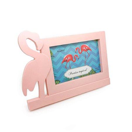 Porta-Retrato Flamingo - Rosa