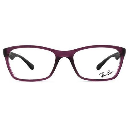 3663550ca Óculos De Grau Ray Ban Roxo - Vision Ótica V2