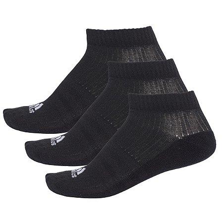 Kit 3 Meias Adidas Liner Cushion Tamanho 39 ao 42