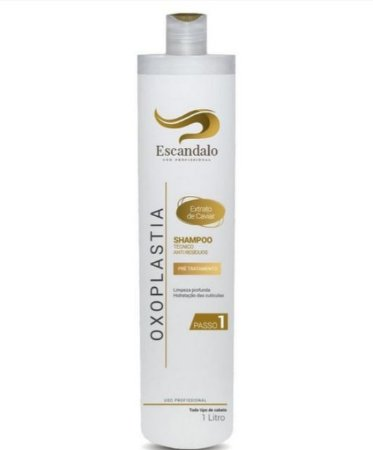 Shampoo Técnico Oxoplastia 1l