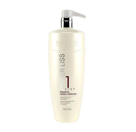 Power Liss Semi Definitiva Shampoo Limpeza Profunda