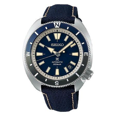 Relógio Seiko Prospex Tortoise Land Blue SRPG15K1 automático