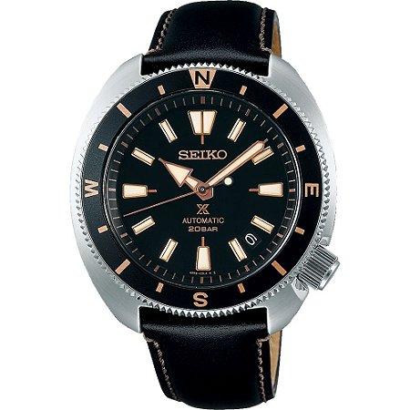 Relógio Seiko Prospex Tortoise Land Black SRPG17K1 automático