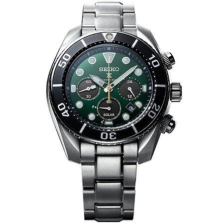 Relógio Seiko Prospex Sumo Solar Safira Ssc807j1 / SBDL083 Edição Limitada Made in Japan