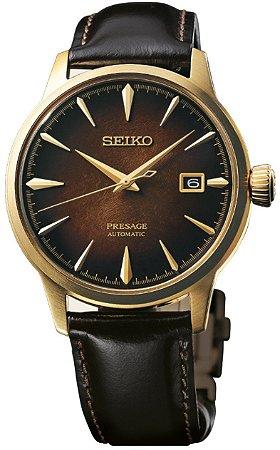 Relógio Seiko Presage Coquetel The Old Fashioned Edição Limitada Automático SRPD36J1 Made in Japan