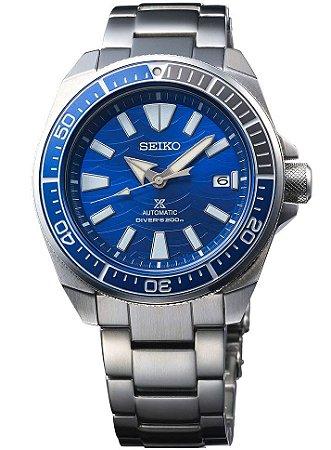 Relogio Seiko Prospex Automático Samurai Save the Ocean Great White Shark SRPD23k1