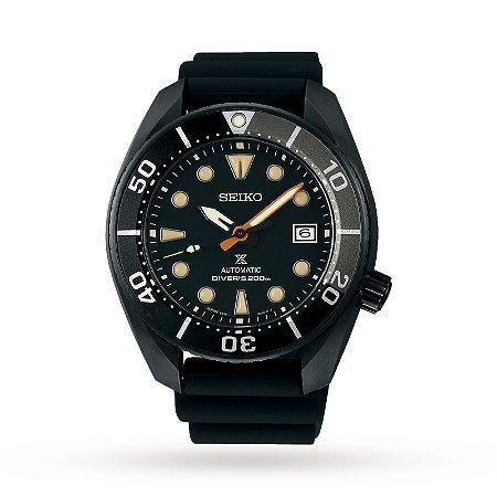 Relógio Seiko Prospex Sumo Black Series Safira Spb125j1 Made in Japan