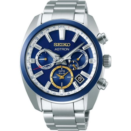 Relógio Seiko Astron Novak Djokovic Solar Ssh045j1 Made in Japan