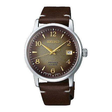 Relógio Seiko Presage Coquetel HOU HOJICHA Automático srpf43j1 Made in Japan